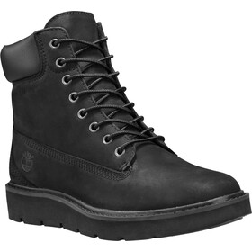"Timberland Kenniston Lace Up Boots 6"" Women, black nubuck"